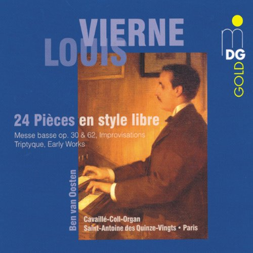 Vierne: 24 Pieces en style libre by MDG