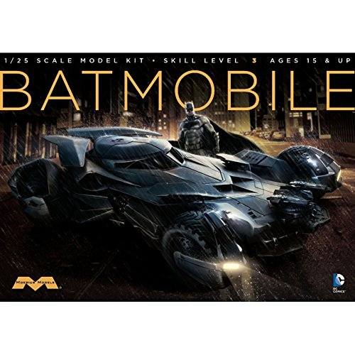Moebius Models Batman v. Superman: Dawn of Justice Batmobile 1:25 Scale Model Kit