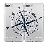 SHARK Best Friends Style/Boyfriend&Girlfriend Compass/ STAY BY MY - Best Reviews Guide