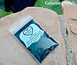 VERY SMALL 1 oz net wt. Reiki Charged Black Salt Bag for Home Cleansing Smudging Purification
