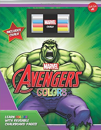 Download Marvel's Avengers Chalkboard Colors: Learn colors with reusable chalkboard pages! (Licensed Chalkboard Concepts) pdf epub