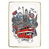 London Medium Porcelain Tray