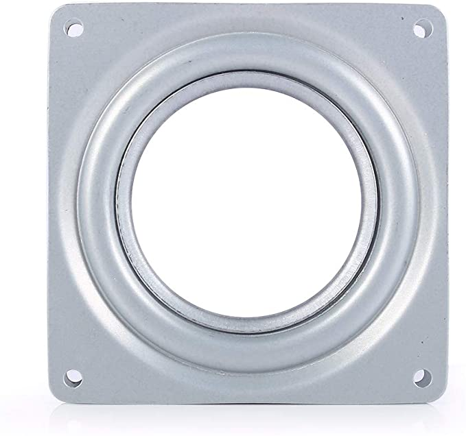 95 mm S Full Ball Bearing Swivel Plate Metal Lazy Susan Turntable 4 inch
