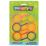 Kids Plastic Magnifying Glass Party Favors, 6ct