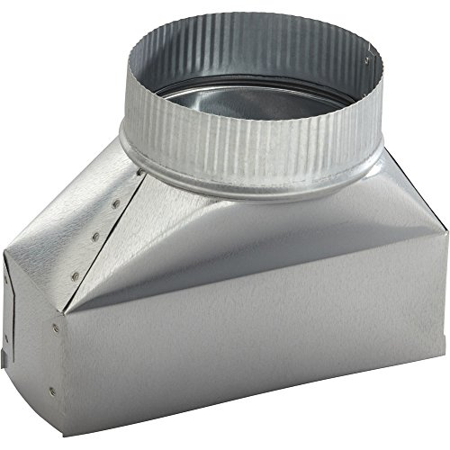 - Broan/Nutone 412H Round Transition Duct for Range Hoods and Bath Ventilation Fans - 7