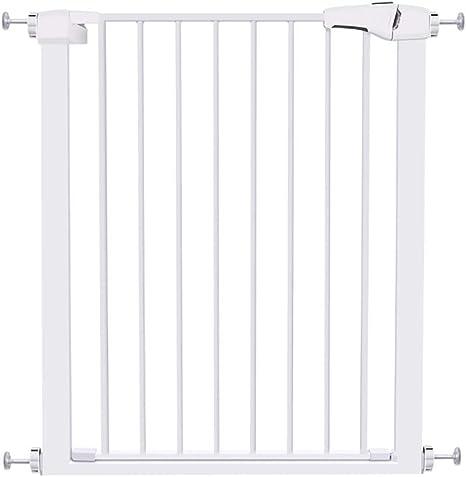Baby Gate Seguridad para bebés, Barrera resistente para escaleras, Reja para perros, Sin perforaciones, Extensible, Blanco (Size : 82CM-89CM): Amazon.es: Bebé