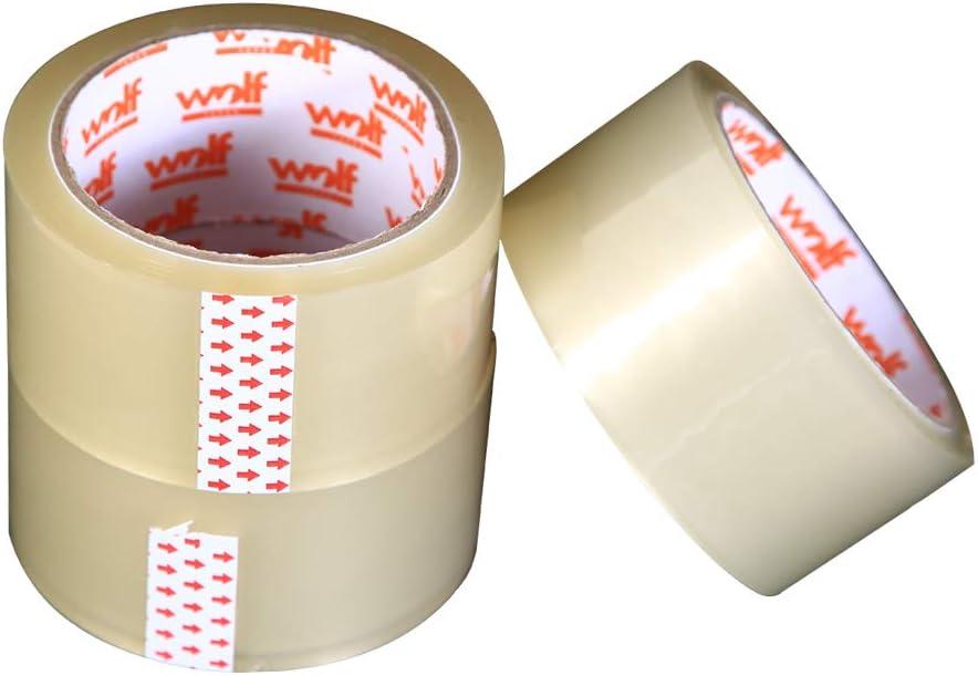 Nastro trasparente per sigillare scatole e pacchi Wolf Tapes