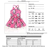 Infant Baby Girls Pink Dress Lace Strappy Backless