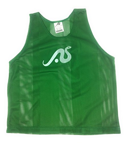 Anaconda Sports 12 Pack Youth Size Stripe Scrimmage Vest (Kelly Green)