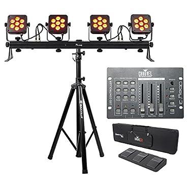 Chauvet DJ 4BAR Flex DMX Light Effect System (4BAR-FLEX)