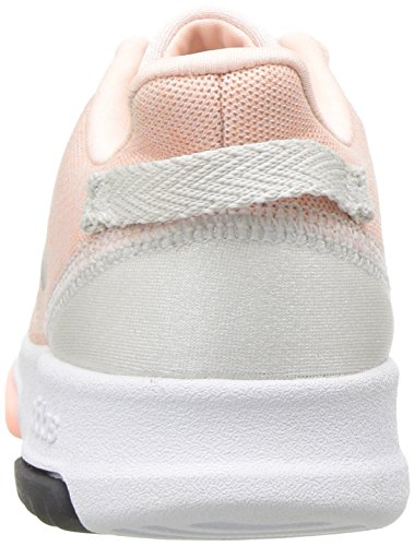 adidas Kids CF Racer TR Running Shoe, Haze Coral/Metallic Silver/White, 7.5K M US Toddler by adidas (Image #2)