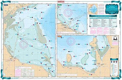 Waterproof Charts Lake Okeechobee Lake Fishing Chart 320F