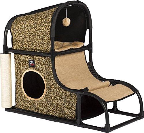 Prevue Pet Products Catville Loft Leopard Print 7220, Leopard Print (Cat Leopard Condo Print)
