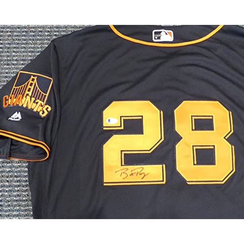 buy online c6284 b76aa San Francisco Giants Buster Posey Autographed Authentic ...