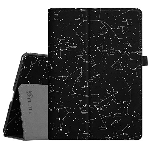 Fintie iPad Pro 9.7 Case, Premium Vegan Leather Folio [Slim Fit] Standing Smart Protective Cover with Auto Sleep/Wake Feature for Apple iPad Pro 9.7 Inch 2016 Release Tablet, Constellation