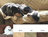HuggleHounds Soft, Durable Furniture Protector-2 Cushion, Chocolate