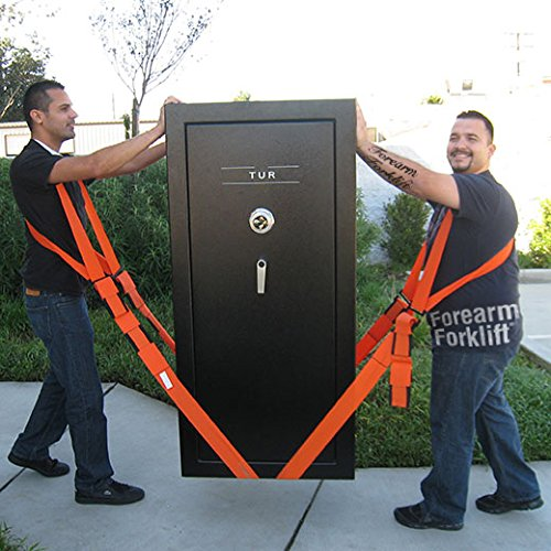 Forearm Forklift Harness, Complete Set, Pack of 2 | 2 Person Moving System | Lift furnishings Easily | Rated up to 800 lbs. by Forearm Forklift (Image #3)