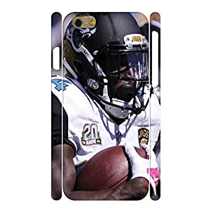 Charm Hipster Phone Accessories Print Football Athlete Action Pattern Skin for Iphone 6 Case - 4.7 Inch