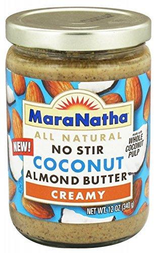 Maranatha Roasted Almond Butter - Maranatha Coconut Almond Butter, No stir, 12 oz (2 pack)