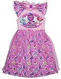 Hatchimals Big Girls' Hatch a Whole World Pajama Dress, Pink, 6/6X