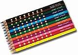 Prang Groove Triangular Colored Pencils, 3.3