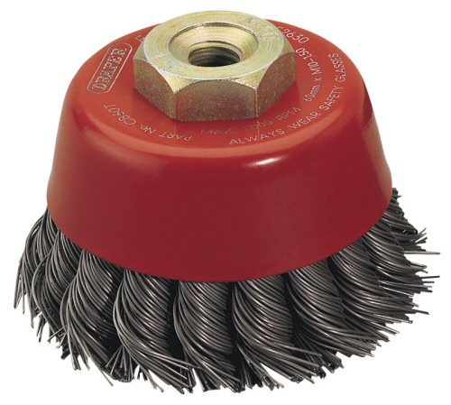 Draper Expert 52630 60 mm x M10 Twist Knot Wire Cup Brush Accessories Wire Brushes Power Tools