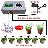 Automatic Watering System to Indoor Plant Timer Watering - by Digital Timer Irrigation Controller Watering for Indoor/Outdoor Garden Flower Plant