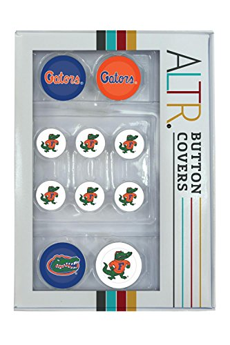 Florida Gators UF Button Covers Set 4 (Florida Gators Tailgate Kit)