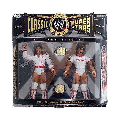 Classic WWE Superstars Tito Santana & Rick Martel by Unknown
