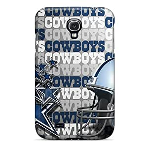 Protector Hard Phone Cases For Samsung Galaxy S4 With Support Your Personal Customized Realistic Dallas Cowboys Pictures JasonPelletier