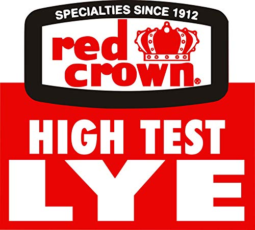 RED CROWN High Test Lye for Making Award-Winning Handcrafted Soaps 2 lb