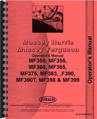 Massey Ferguson 360 Tractor Operators Manual by Jensales