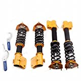 GOWE Coilovers for Subaru Impreza WRX GDA GDB 02-06 STi 04 Adjustable Height + Camber Forester Coil Spring Over Coilover Kit