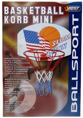 Best, Cesto da basket, Rosso (rot), ca. 30 cm Best Sport 64030