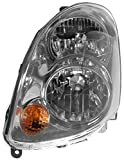 04 infiniti headlights - Halogen Headlight Headlamp Driver Side Left LH for 03-04 G35 4 Door Sedan