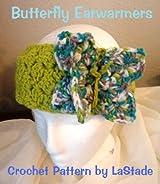 Crochet Pattern Butterfly Earwarmers