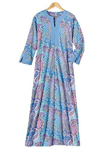 AmeriMark Print Knit Robe