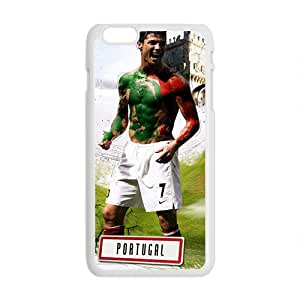 NICKER PORTUGAL Soccer White Phone Case for Iphone6 plus