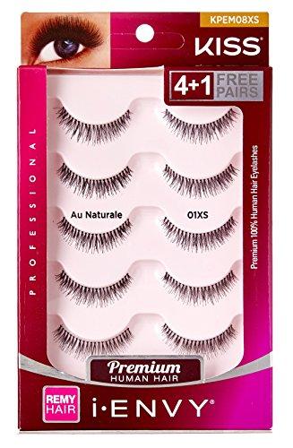 Kiss I Envy Au Naturale 01Xs Value Pack 4+1 Lashes