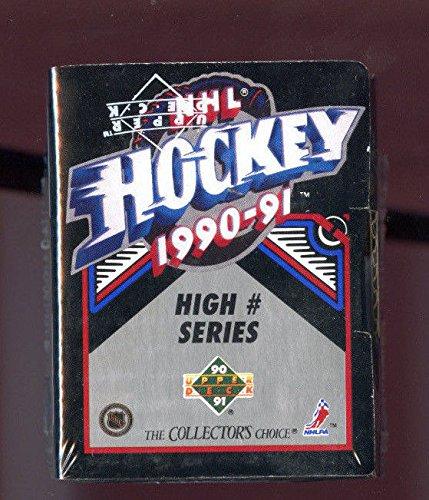 1990-91 1991 Upper Deck Hockey Complete Box set High # series Hi Number FRM CASE
