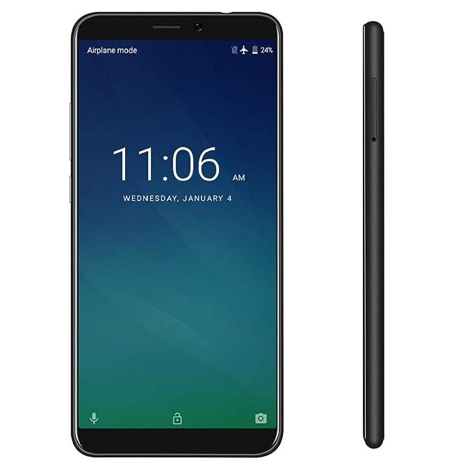 QUICKLYLY Smartphone/Telefono MovilKEECOO P11 Teléfono Inteligente Desbloqueado, 5.7 Pantalla 4G LTE WCDMA gsm Dual SIM, 16GB / 8MP,Negro: Amazon.es: Electrónica