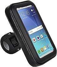 Suporte de Guidão 22 a 35mm para Smartphone de até 5,5 Pol. com Rotação 360 POL e Touch Screen Preto Atrio - B