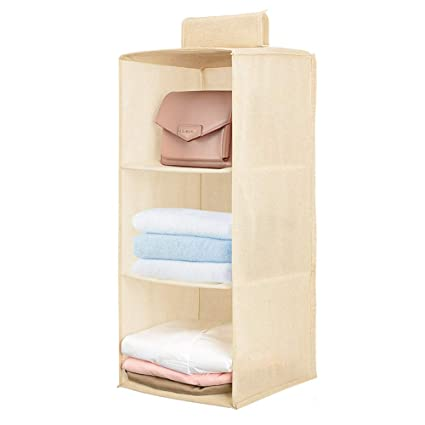 Amazoncom Jiatushuma 3 Shelf Hanging Closet Organizer Hanging Shoe