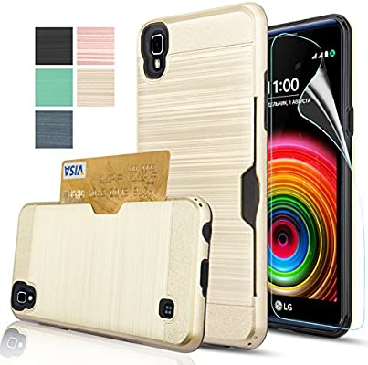 Amazon.com: LG X Power/K6P/K210 Funda de plástico con ...
