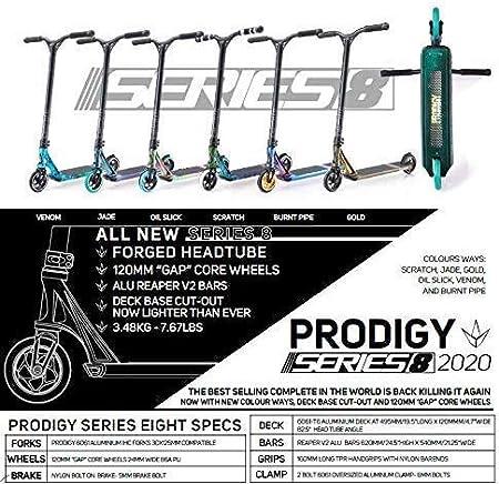 Blunt Prodigy S8/Trottinette de cascades//freestyle compl/ète avec autocollant Fantic26