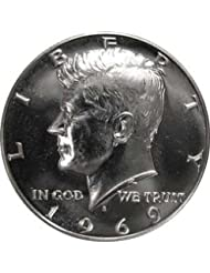 1969 S SILVER Gem Proof Kennedy Half Dollar US Coin