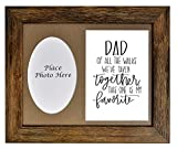 Dad of Bride Picture Frame,