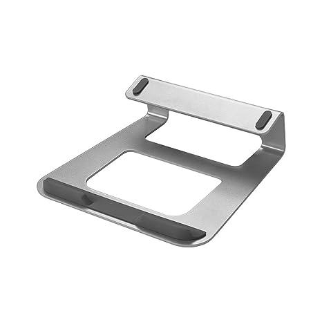 Aibecy Soporte para computadora portátil Stand de Escritorio con Soporte Aluminio Aleación Ordenador portátil Estación de