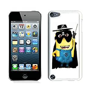 Personalized Design Ipod Touch 5 Despicable Me the Mask of Zorro 21 Cell Phone Cover Case for Ipod Touch 5th Generation White
