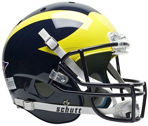 Michigan Wolverines Team Helmet - Schutt NCAA Michigan Wolverines Replica XP Helmet